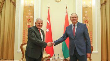 Румас встретился с председателем Великого национального собрания Турции