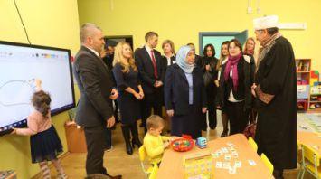 Парламентская делегация Турции посетила детский сад в Минске