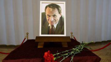 Прощание с Игорем Лученком прошло в Центральном Доме офицеров