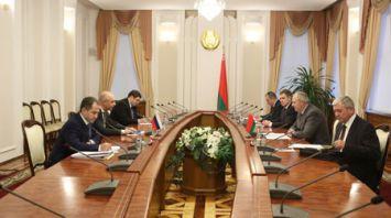 Румас встретился с первым вице-премьером России