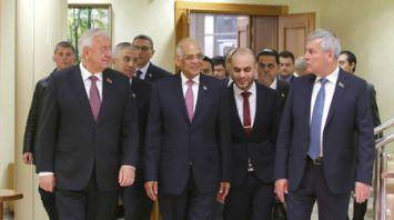 Мясникович и Андрейченко встретились с председателем Палаты представителей Египта