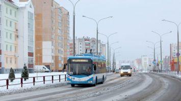 Новый троллейбусный маршрут открыли в витебском микрорайоне Билево