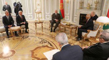 Лукашенко встретился с председателем Палаты представителей Египта
