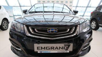 """""""БЕЛДЖИ"""" выводит на рынок обновленный седан Geely Еmgrand 7"""