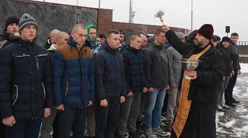 В Могилеве состоялись проводы призывников на службу в Вооруженные Силы