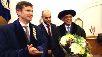 Председатель Палаты представителей Египта посетил БГУ