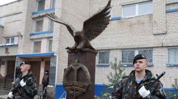 Памятный знак белорусскому ОМОНу открыли в Витебске