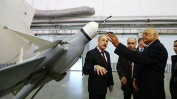 Председатель Палаты представителей Египта ознакомился с беспилотниками НАН Беларуси