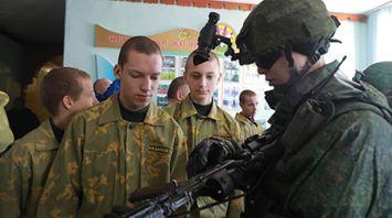 Урок мужества прошел в профтехучилище №2 в Могилеве