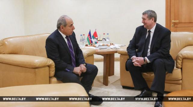 Михаил Русый встретился с первым заместителем премьер-министра Азербайджана