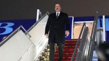 Президент Азербайджана прибыл в Беларусь