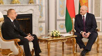 Лукашенко провел переговоры с Алиевым