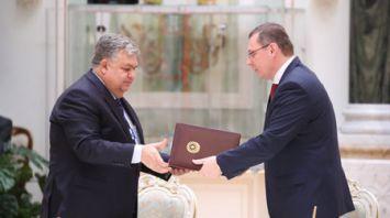 Ряд двусторонних документов подписан по итогам переговоров президентов Беларуси и Азербайджана