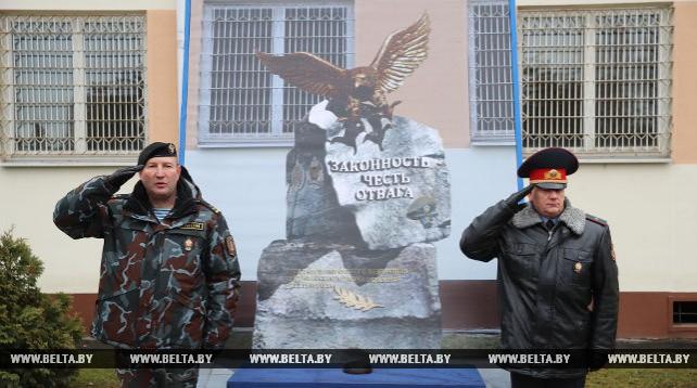Памятный знак будет установлен на территории столичного ОМОНа