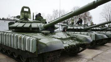 Десять модернизированных танков поступили на вооружение 120-й отдельной механизированной бригады