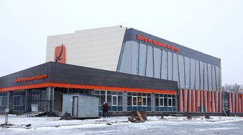 Строительство Центра по прыжкам на батуте завершается в Витебске