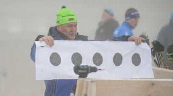 Мужская гонка на этапе Кубка мира по биатлону перенесена из-за тумана