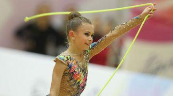 Гимнастки из 10 стран выступают в Минске на турнире на призы Марины Лобач