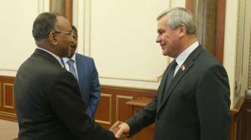 Андрейченко встретился с послом Судана