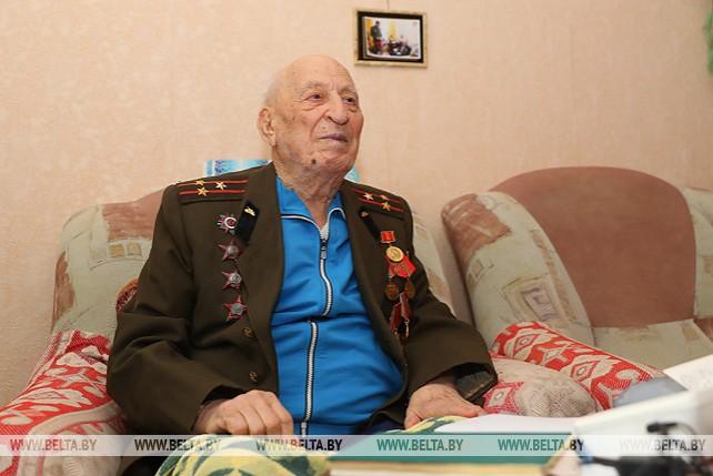 Ветеран Великой Отечественной войны Гавриил Бордаченко