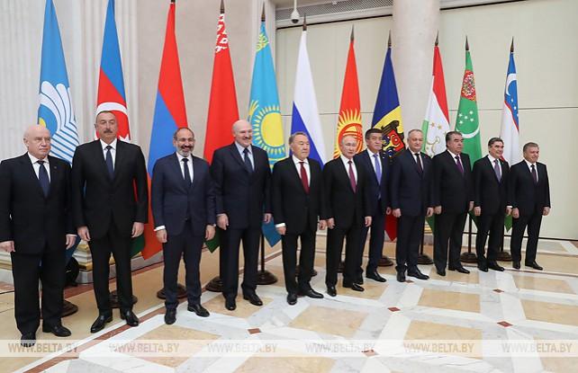Лукашенко принимает участие в неформальном саммите СНГ