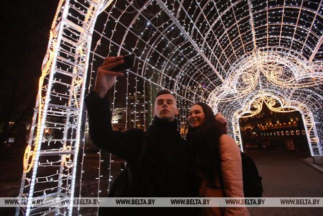 Световая галерея появилась у Минской городской ратуши