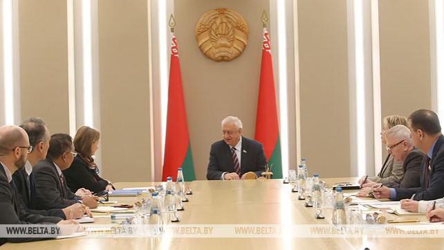 Мясникович встретился с постоянным координатором ООН в Беларуси