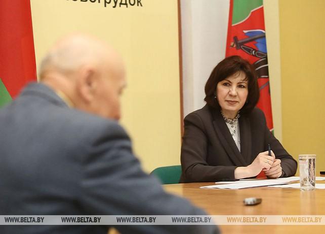 Кочанова провела прием в Новогрудке