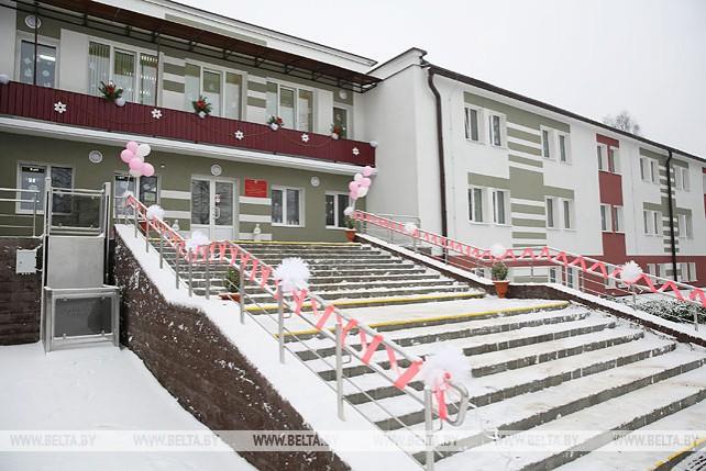 Психоневрологический дом-интернат открылся после реконструкции в Кобрине