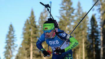 Биатлонистка Ирина Кривко заняла 17-е место в спринте на этапе КМ в Поклюке, победила Кайса Мякяряйнен