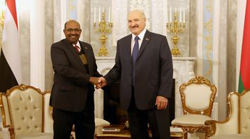 Лукашенко провел переговоры с Президентом Судана
