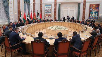 Переговоры Лукашенко и Президента Судана в расширенном составе прошли в Минске