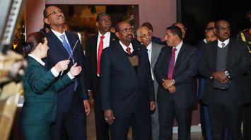 Президент Судана посетил музей истории Великой Отечественной войны