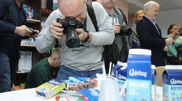 Российские журналисты посетили Полоцкий молочный комбинат