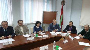 Заседание Комиссии по опросам общественного мнения при НАН Беларуси