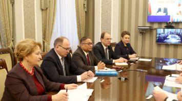 Заседание Национальной комиссии по правам ребенка в Минске
