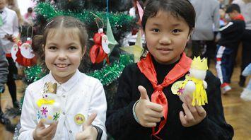 Могилевская гимназия и китайская школа подписали договор о сотрудничестве