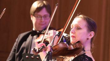 Концертом камерного оркестра завершился фестиваль имени И.И.Соллертинского в Витебске