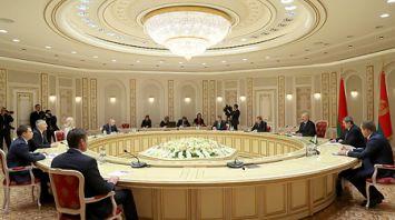 Лукашенко встретился с главой Республики Карелия Российской Федерации Артуром Парфенчиковым