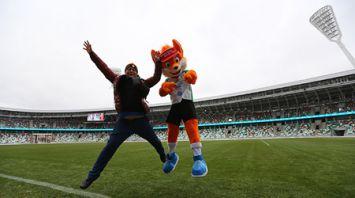 Российские журналисты ознакомились со спортивными объектами Минска