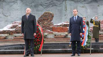 Румас и Медведев посетили Брестскую крепость