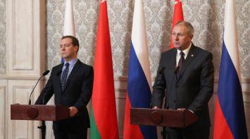 Беларусь и Россия продолжат снятие барьеров и создание условий для равного доступа на рынки - Румас