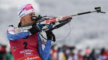 Кайса Мякяряйнен победила в гонке преследования на КМ в Хохфильцене, Ирина Кривко - 12-я