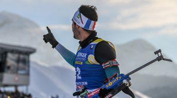 Мартен Фуркад победил в пасьюте на этапе КМ в Хохфильцене