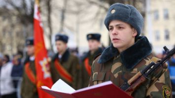 Более 450 военнослужащих приняли присягу в 120-й гвардейской механизированной бригаде