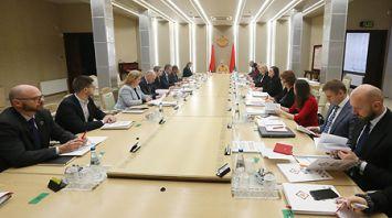 Заседание рабочей группы Национального собрания по достижению ЦУР прошло в Минске
