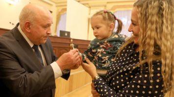 Жильцам 120-квартирного дома в Витебске вручены ключи