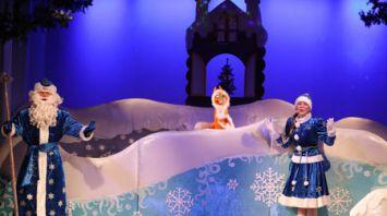 Новогодние представления для детей начались в Витебске