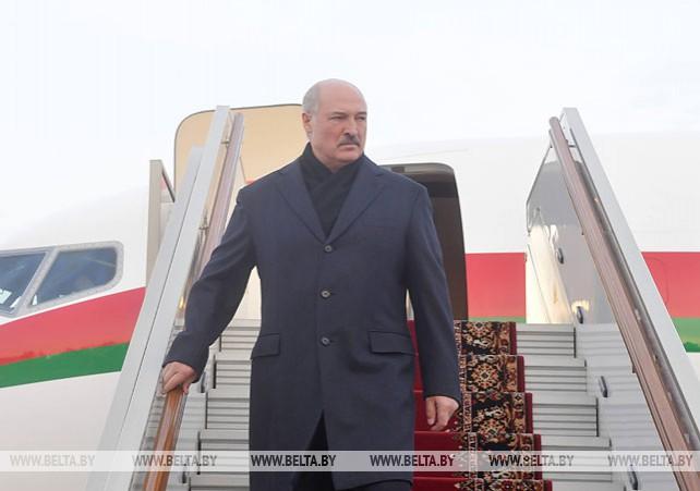 Лукашенко прибыл в Москву на переговоры с Путиным