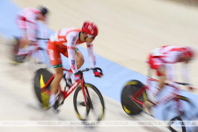 Зимний чемпионат Беларуси по велоспорту на треке проходит в Минске